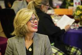 """Christine Baranski is busy with television work, but also finds time to be a board member on the Housatonic Valley Association in Connecticu. Below, Baranski in """"The Good Fight"""" on CBS."""