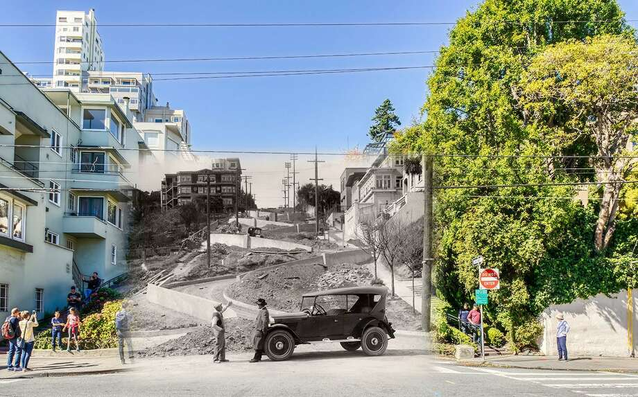 Click on the slideshow ahead to see historic images of our city overlaid on photos of present day SF.  Photo: Orbitz