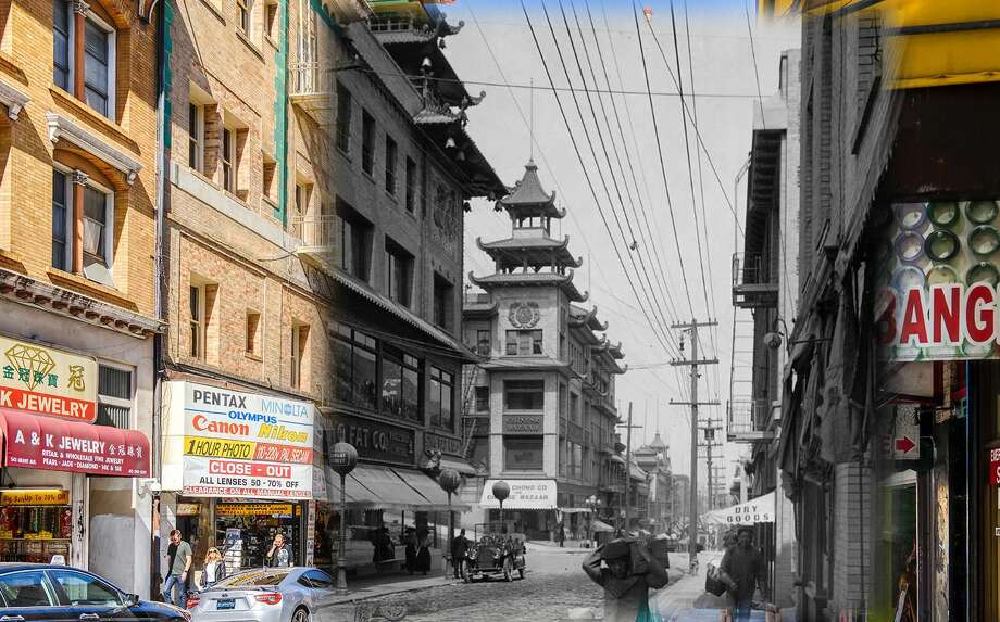 A view of China Town as seen in this 1910 image.