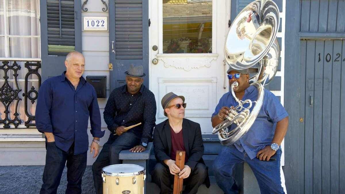 Mad Skellet: John Medeski, Will Bernard, Kirk Joseph & Terence Higgins (provided photo)