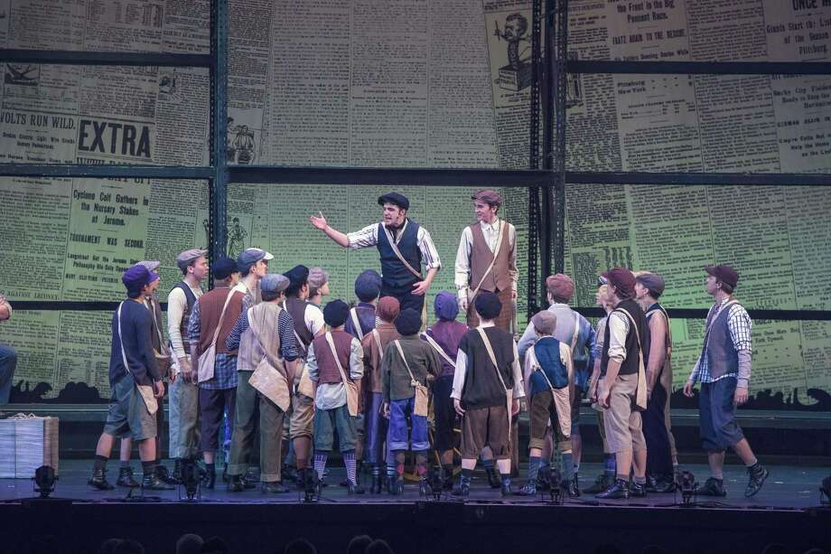 "The final performances of the Warner Stage Company's production of Disney's ""Newsies"" will be held this weekend. Photo: Warner Stage Company / Contributed Photos"