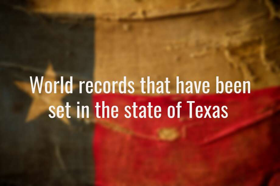 LISTED: Guinness World Records set in Texas 