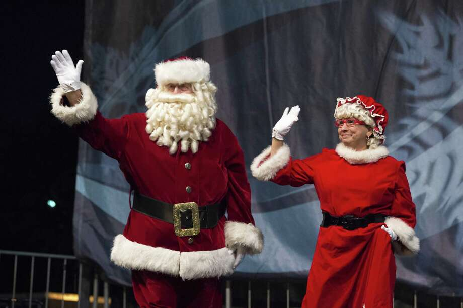 Santa and Mrs. Claus will be guests at the city of Pasadena's annual Christmas Tree Lighting, set for from 6-9 p.m. Nov. 30 at Old City Hall on Southmore. Photo: City Of Pasadena / City Of Pasadena