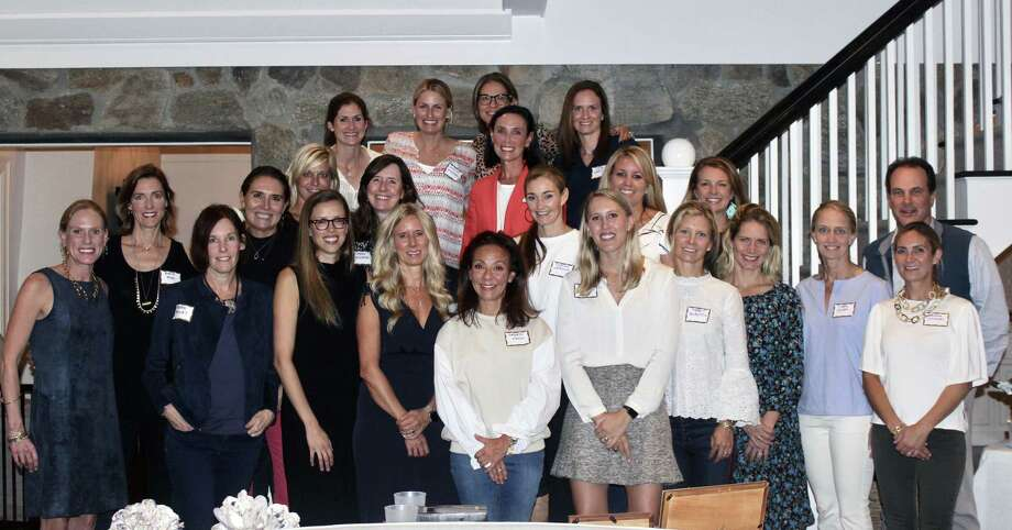 The Darien Foundation's Rock the Yacht Benefit Committee recently gathered to kick off planning for the event, which is scheduled for April 27. Photo: Contributed Photo