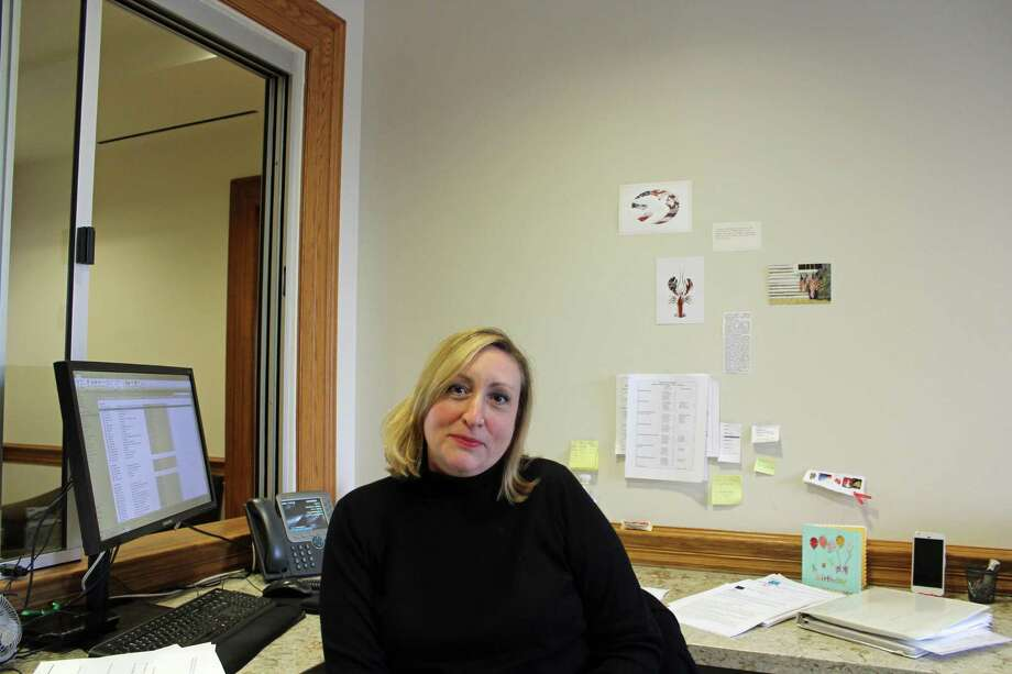 Pam Flynn has been working in town hall since 2005. Photo: Humberto J. Rocha / Contributed Photo / New Canaan News contributed
