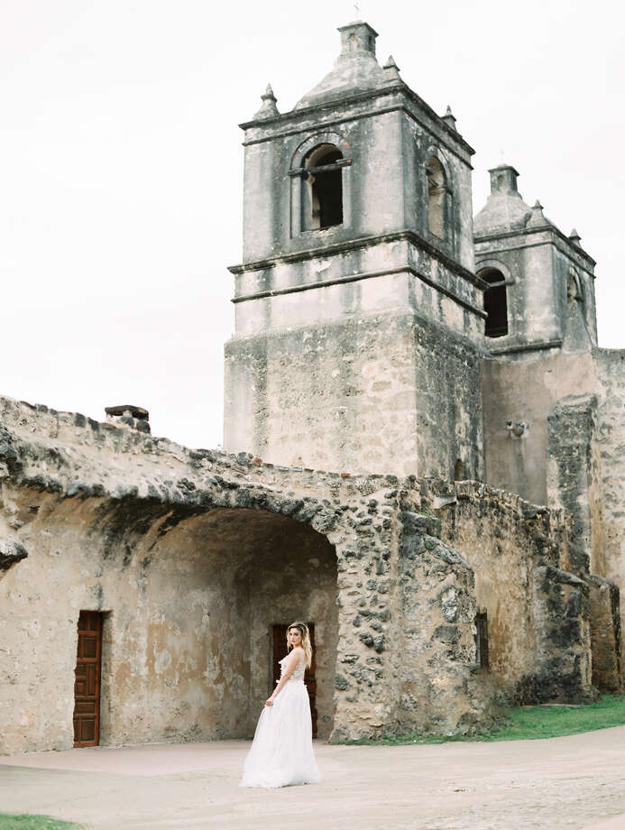 San Francisco-based photographer William Trang chose San Antonio's Mission Concepcion for a series of bridal inspiration photos that he took in May and then submitted to Magnolia Rouge. The New Zealand-based website and blog accepted his submission and recently showcased the photos. Photo: Courtesy, William Trang Photography