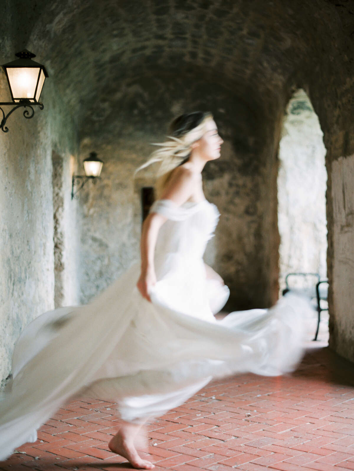 San Francisco-based photographer William Trang chose San Antonio's Mission Concepcion for a series of bridal inspiration photos that he took in May and then submitted to Magnolia Rouge. The New Zealand-based website and blog accepted his submission and recently showcased the photos.