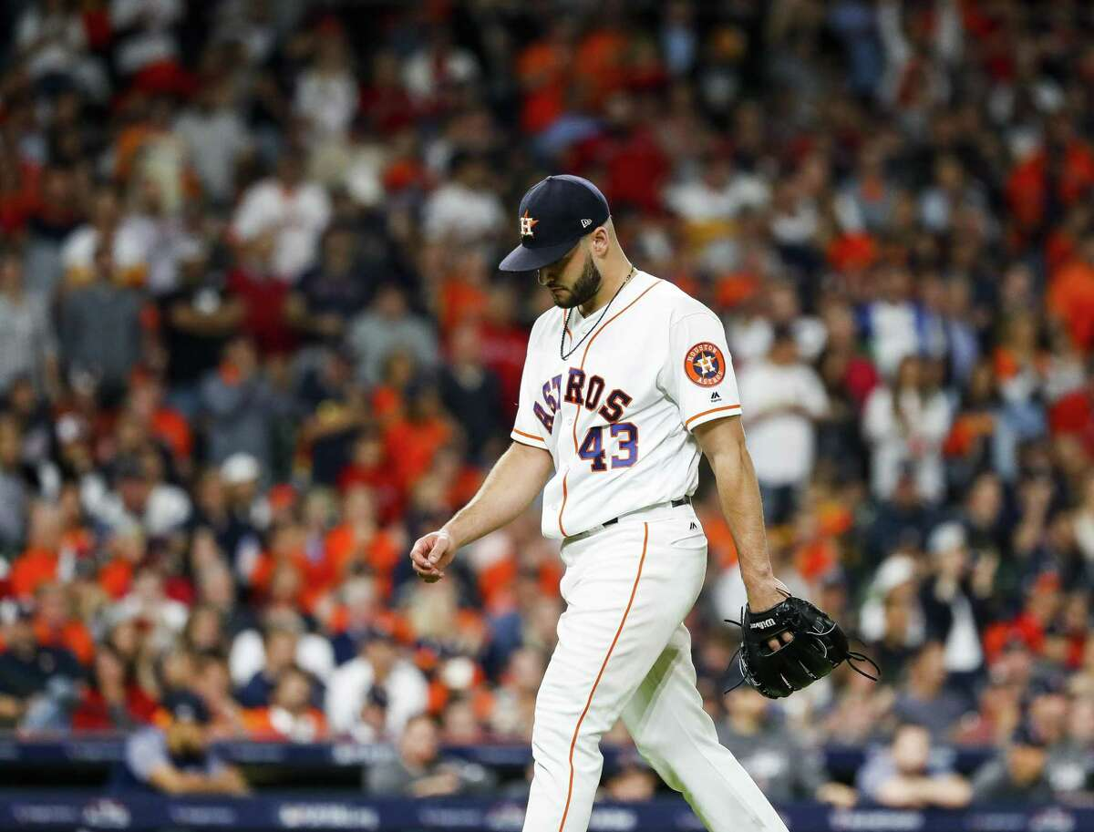 Having undergone Tommy John surgery, righthander Lance McCullers Jr. won't be on the mound for the Astros next year.