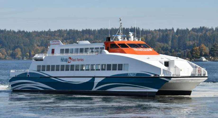 The ferry Finest will transport up to 250 passengers between Kingston and Seattle. Photo: Courtesy Kitsap Transit