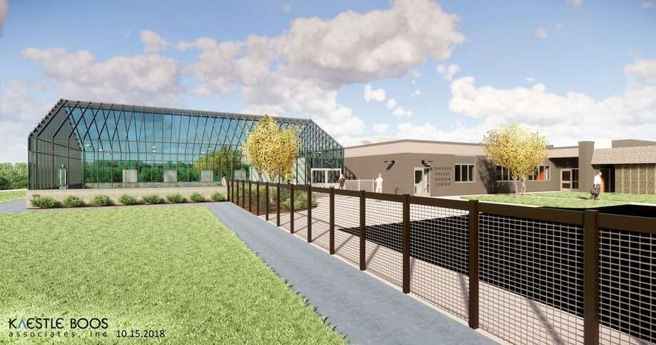 Renderings of the new agriscience building that is being constructed at Shepaug Valley School. Photo: Carol Kaliff / Hearst Connecticut Media / The News-Times