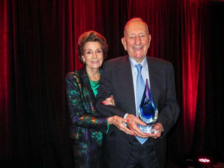 Clayton Williams and his wife, Modesta. Photo: Courtesy Photo