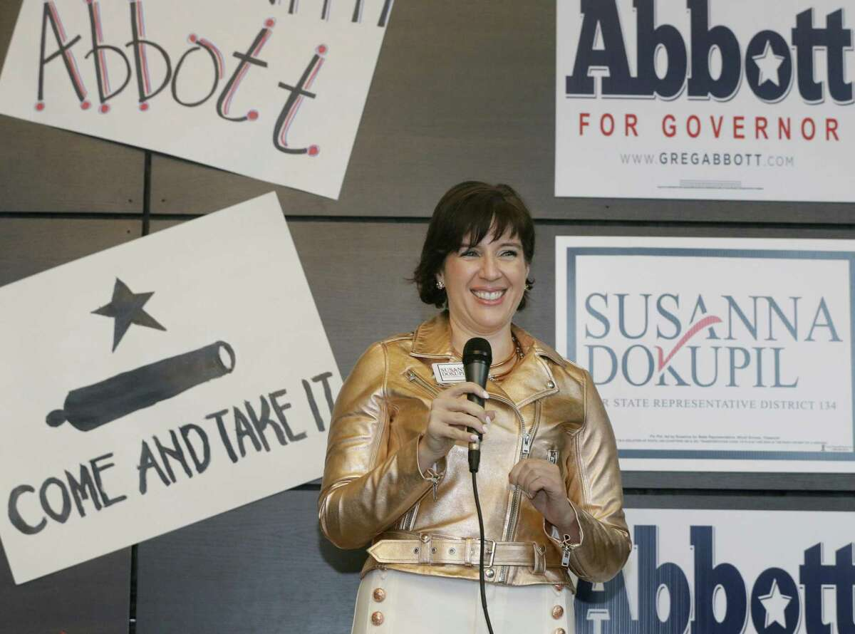 Susanna Dokupil was one of the republican candidates Gov. Greg Abbott supported over a candidate allied with former House Speaker Joe Straus.