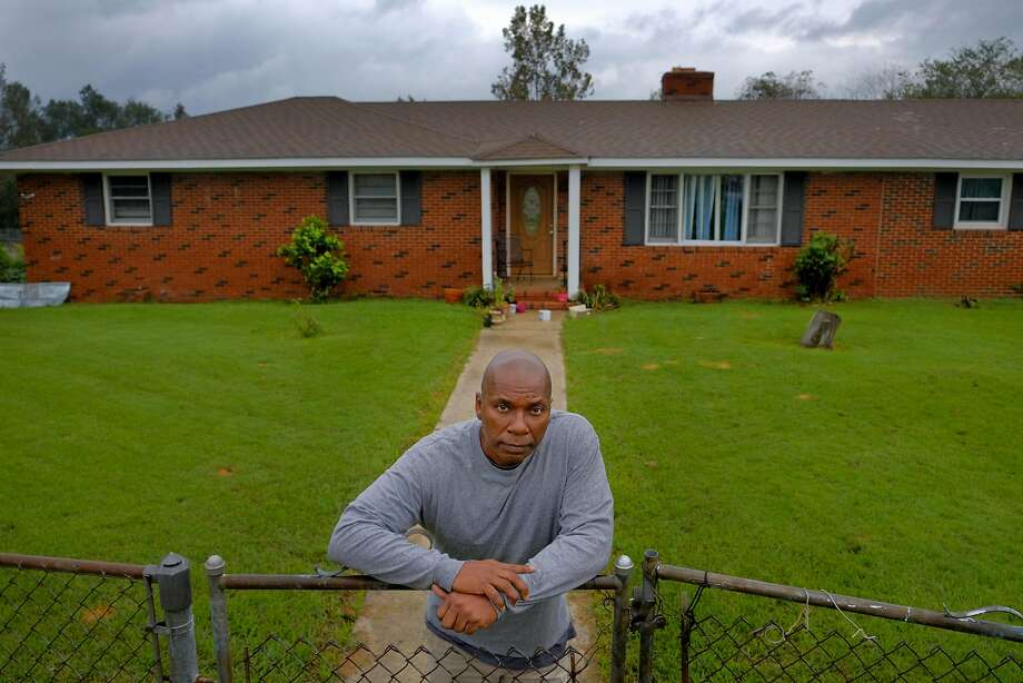 Whistle-blower Archie Jackson, 54, stands in front of his home in Beech Island, S.C. Jackson is a radiation technician who used to work at the Hunters Point shipyard and says the cleanup was marred by incompetence and falsified records. Photo: Gerry Melendez / Special To The Chronicle
