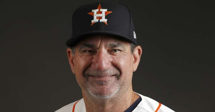 Houston Astros hitting coach Dave Hudgens (39) during photo day at spring training at The Ballpark of the Palm Beaches, Wednesday, Feb. 21, 2018, in West Palm Beach.   ( Karen Warren / Houston Chronicle )