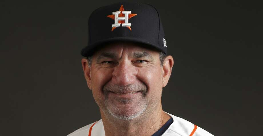 Houston Astros hitting coach Dave Hudgens (39) during photo day at spring training at The Ballpark of the Palm Beaches, Wednesday, Feb. 21, 2018, in West Palm Beach.   ( Karen Warren / Houston Chronicle ) Photo: Karen Warren/Houston Chronicle