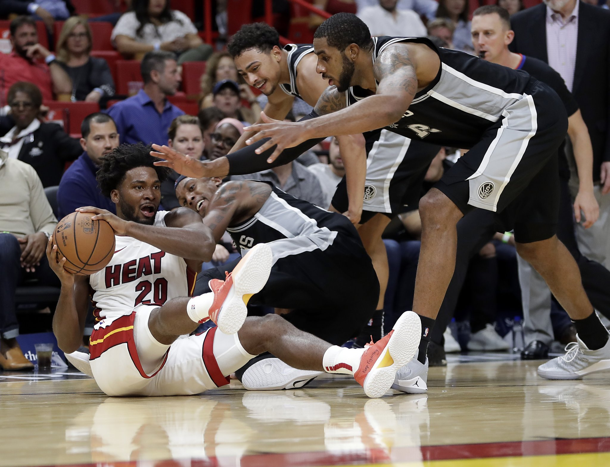 Spurs feel Popovich's wrath after 'soft' showing in Miami
