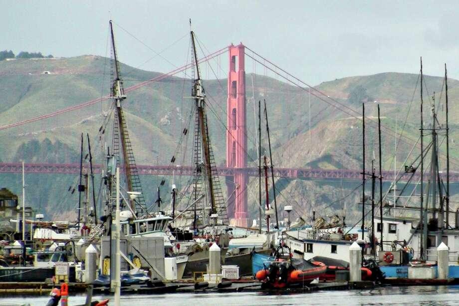 Boats docked at Fisherman's Wharf in San Francisco. Photo: Bloomberg / Bloomberg