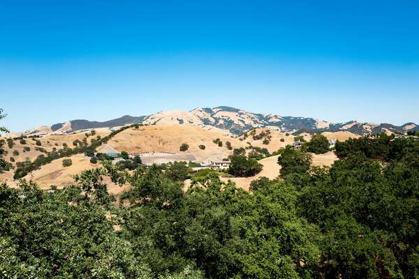 Mount Diablo, the tallest mountain in the San Francisco Bay Area, Alamo, California, July, 2016. (Photo by Smith Collection/Gado/Getty Images).