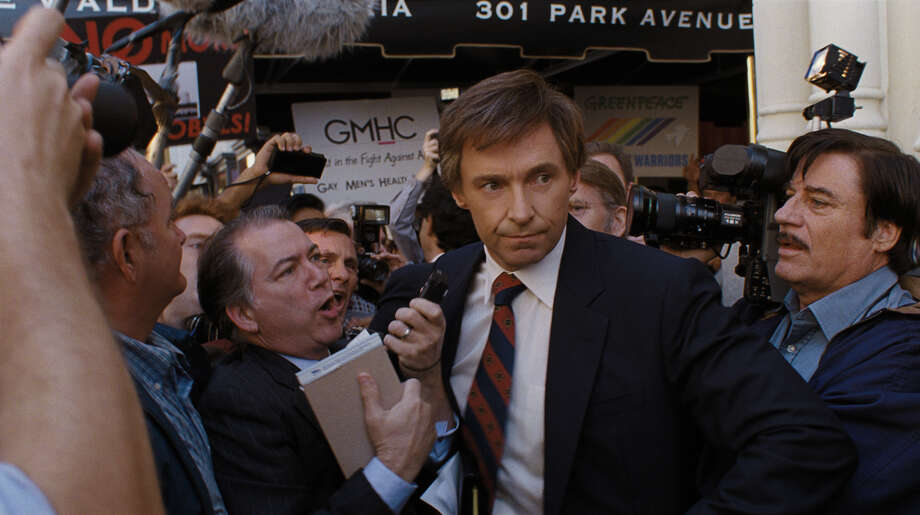 "Hugh Jackman stars as Gary Hart in ""The Front Runner."" Photo: Sony Pictures-Columbia Pictures / ©2018 CTMG, Inc."