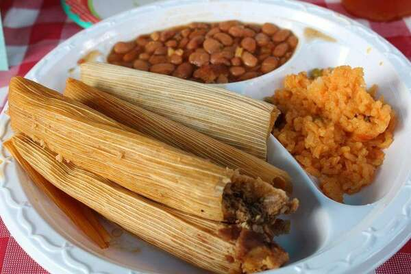 Caroline's Kitchen411 West Main Street, Ste. A, Tomball Andy B's review: These things are off the hook good.  The Tejas bbq tamales are unlike any you will get anywhere else.  They have a complex mix of flavors and textures that made me wish I had ordered more.  Photo courtesy Eddie S/Yelp