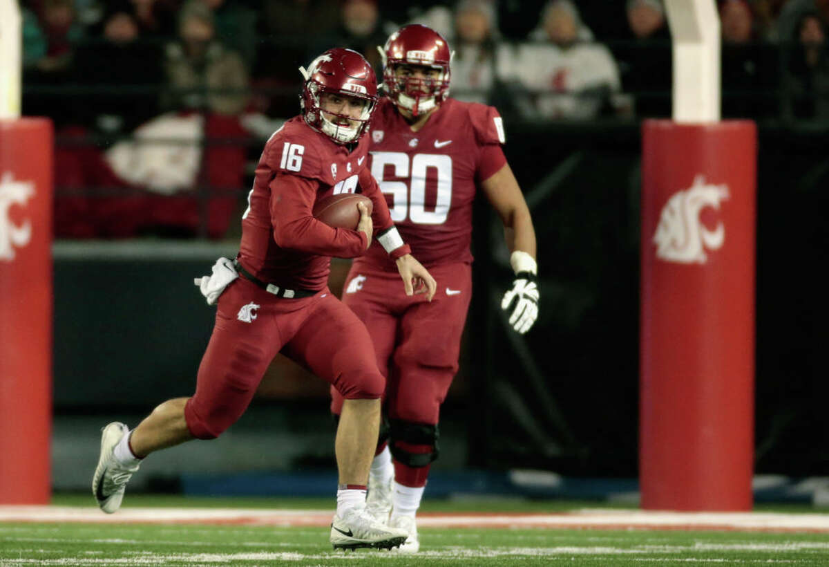 2. Can Washington State's defense avoid the bad penalties? The Cougs have been balling - there's no doubt about that. Penalties, however, have been a notable week spot. Despite being the No. 8 team in the country, the WSU ranks 107th in the FBS with 7.89 penalties per game. What's even more concerning though, is that those flags have given opponents an average of 78.59 each contest. Colorado may be on a four-game losing streak, but they're too dangerous an offensive unit to write off. With bowl eligibility on the line for the Buffs, expect them to come out swinging. In that kind of games, self-inflicted wounds on the part of the Cougs could prove to be devastating. Just last week against Cal, key penalties kept the Bruins within striking distance before WSU sealed the win. If they're serious about being CFP contenders, Leach's team needs to tighten the screws on flags.