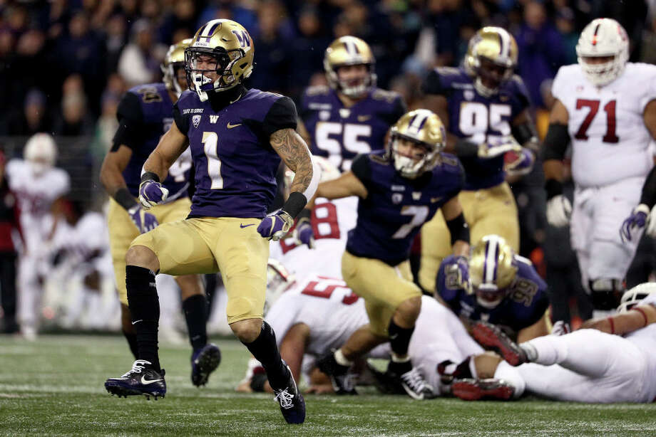 1. Can the Huskies stay consistent?Since opening the season 5-1, the Dawgs have struggled to play consistent football. In the four games since then, the team has gone 2-2, defeating Stanford 27-23 in the most recent outing. That win was enough to propel the Huskies back up to No. 25 in the CFP rankings. With Myles Gaskin back on the field, the team's offense looked light-years better, and the defense played a strong first half. The second half ended up being a struggle for the Dawgs however, with the defense allowing three Stanford touchdowns. The offense seemed to lose its legs, mustering just a pair of field goals. To be clear, Oregon State is a bad football team. The Huskies should absolutely pummel them this weekend. That being said, this is a Washington team that's looked utterly brilliant at times, and totally out of sorts at others. Chris Petersen and his players would be wise to not overlook the Beavers next weekend – just ask Colorado. Photo: Abbie Parr/Getty Images / 2018 Getty Images