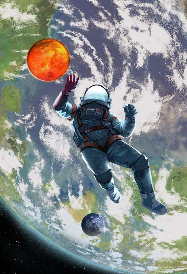 Illustration for story KIDSPOST-SPACE (Christina Barron). Photo: Illustration For The Washington Post By Jonathan Bartlett / Jonathan Bartlett