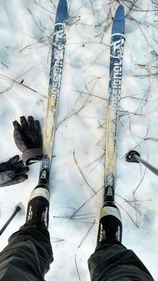 Skinny skis, boots with toe fasteners, gloves and poles are all you need to cross-country ski in Yosemite National Park in California's Sierra Nevada Mountains. Photo: Photo By Walter Nicklin For The Washington Post / For The Washington Post