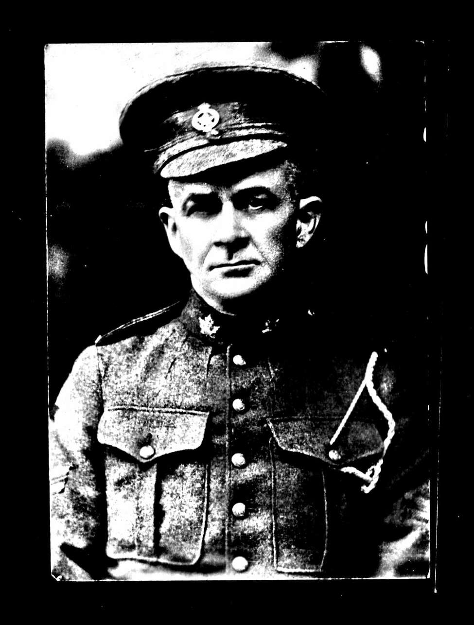 Arthur Wellington of Troy joined the Canadian forces in World War I after his son Burton's death. He was the oldest Troy resident to enlist, according to archival records. He survived the war. (New York State Archives)