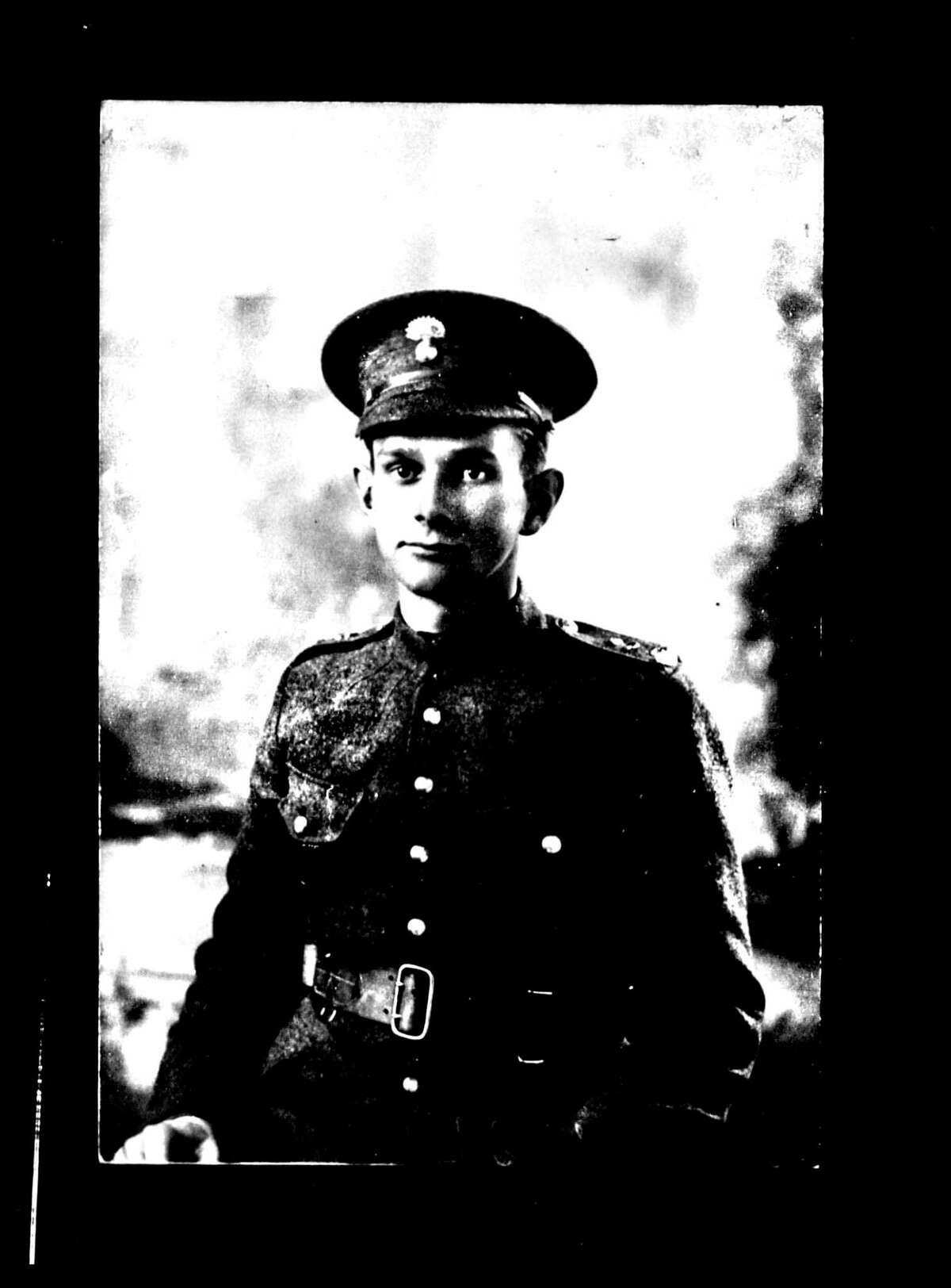 Burton J. Wellington was the first Troy resident to be killed in World War I, as well as the first Troy resident to enlist. He joined the Canadian Expeditionary Force in 1916. (New York State Archives)