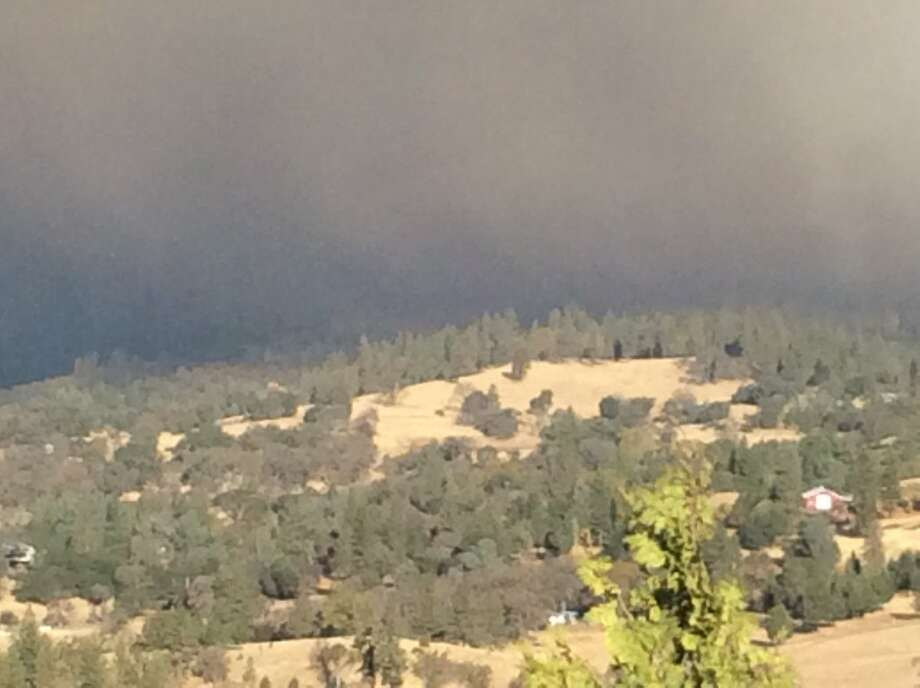 Evacuations were ordered in Butte County on Thursday after wildfire increased to over 1,000 hectares. Photo: Twitter / Cal Fire Butte Unit