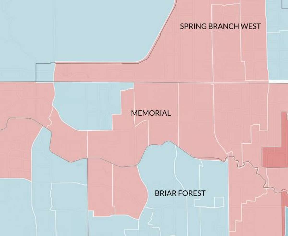 Neighborhood: Memorial50 percent or more of voters in this area voted for: Ted Cruz