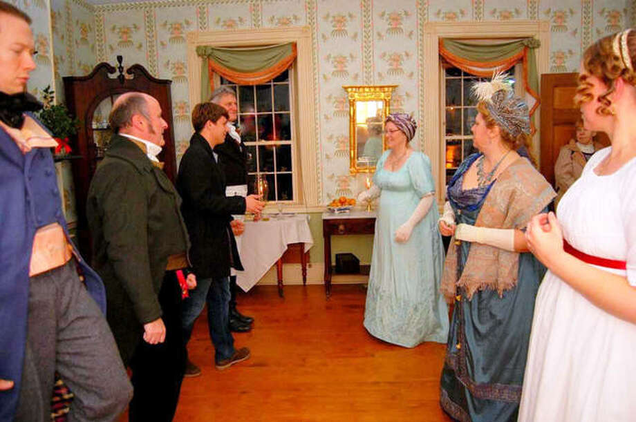 The 1820 Col. Benjamin Stephenson House ushers in the holiday season with the Christmas Candlelight Tours, Nov. 23-24 from 6-9 p.m. The admission fee is $10 for adults, $5 for children (6-12 years), and five years old and under are admitted free of charge. The 1820 Col Benjamin Stephenson House is a not-for-profit organization. Funds generated through this event will be used to develop educational programs in 2019. Photo: For The Intelligencer