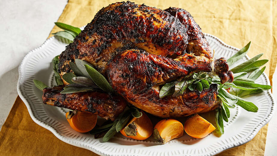 Herb-Slathered Turkey. Photo: Photo By Tom McCorkle For The Washington Post. / The Washington Post