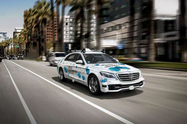 Mercedes San Jose >> Mercedes Robot Cabs Coming To San Jose Next Year Sfchronicle Com