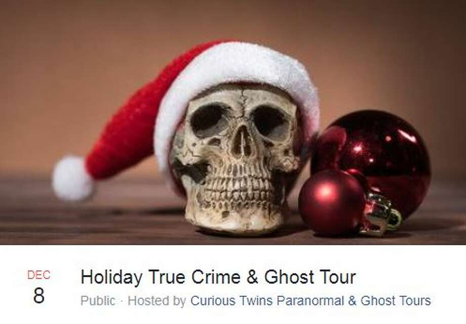 Three holiday true crime and ghost tours are scheduled for December. Photo: Facebook Screengrab