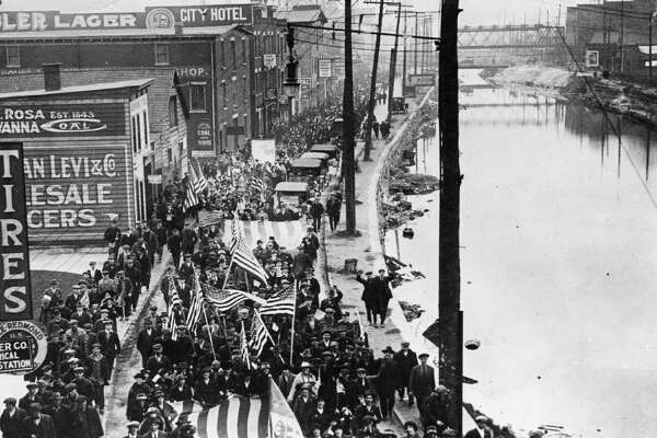 Armistice Day in Schenectady, Nov. 11, 1918