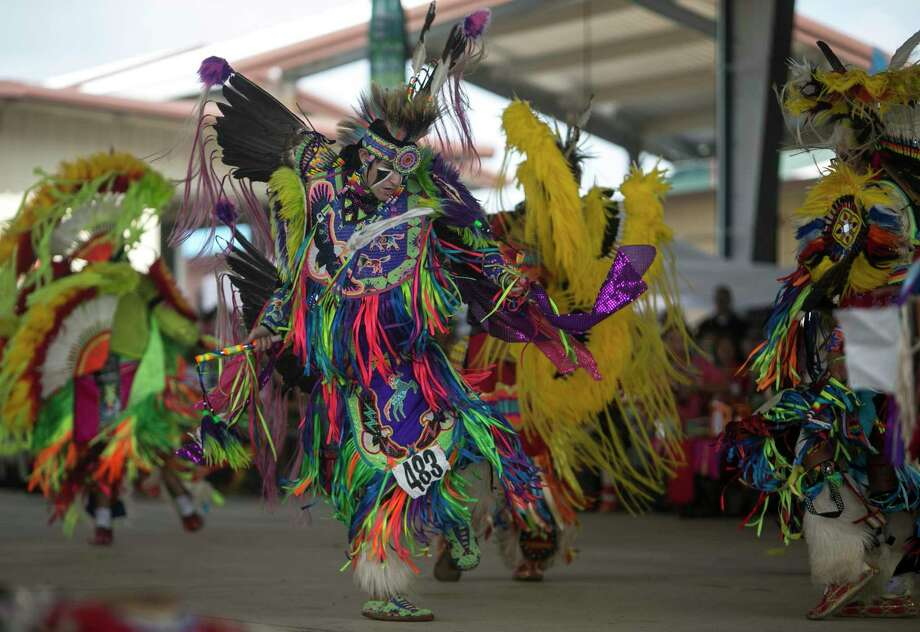 Traders Village hosts the 30th Annual Native American Pow Wow this weekend. Photo: Josie Norris, Staff / San Antonio Express-News / © San Antonio Express-News