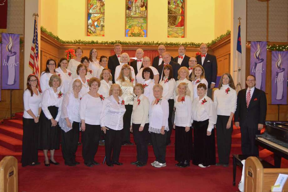 "TThe Connecticut Yankee Chorale will present is holiday concert ""Christmas Time in the City"" on Saturday, Dec. 9 at Center Congregational Church in Torrington. Photo: Contributed Photo"