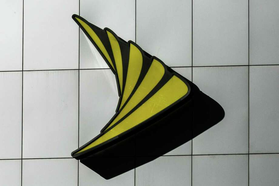 A Sprint logo in New York on April 30, 2018. Photo: Bloomberg Photo By Jeenah Moon. / © 2018 Bloomberg Finance LP
