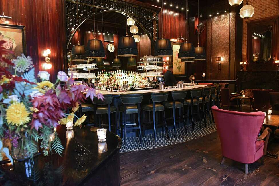 Interior of The Maker Lounge on Thursday, Nov. 1, 2018 in Hudson, N.Y. (Lori Van Buren/Times Union)