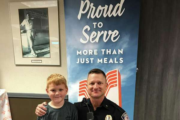The Midland Police Department hosted Coffee with a Cop Thursday, Nov. 8, at Whataburger.