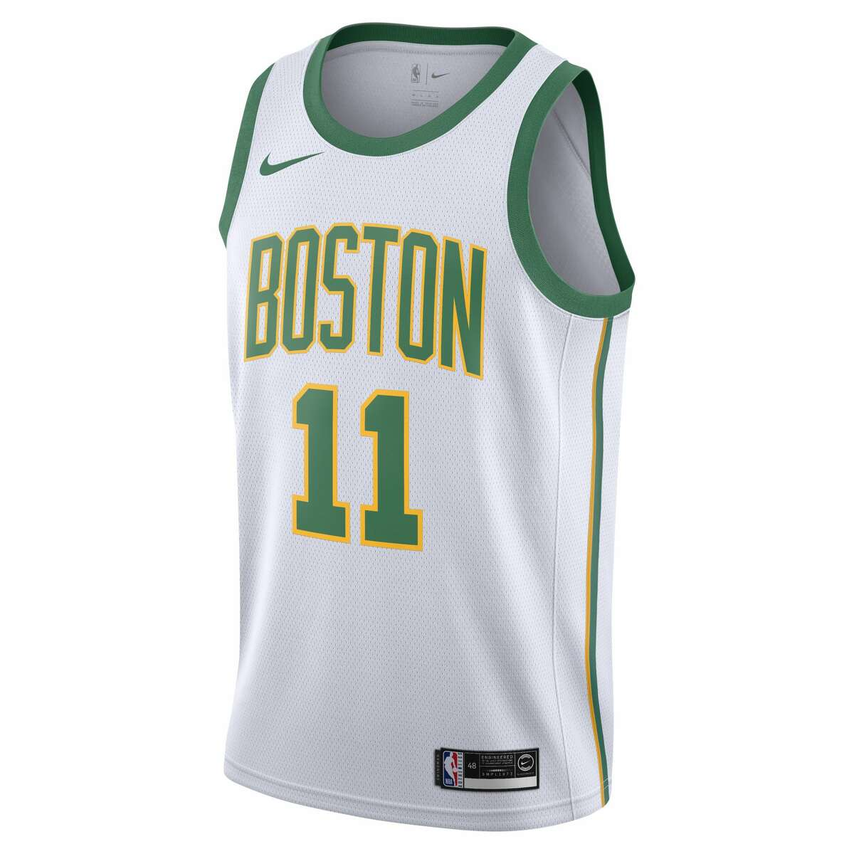 The Boston Celtics' NBA City Edition jersey for the 2018-19 season.