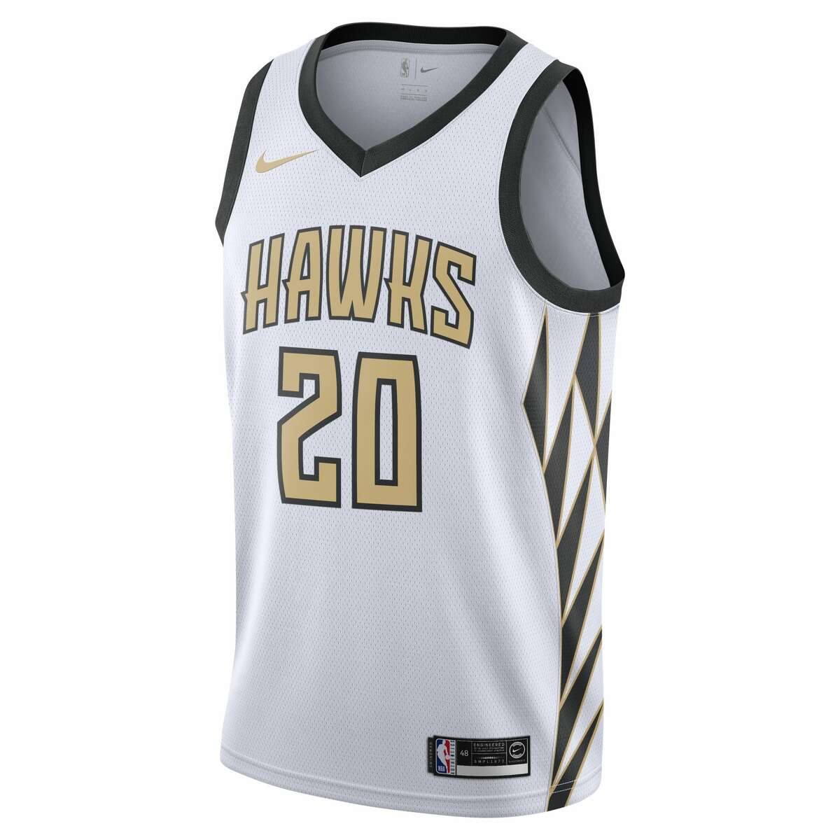 The Atlanta Hawks' NBA City Edition jersey for the 2018-19 season.