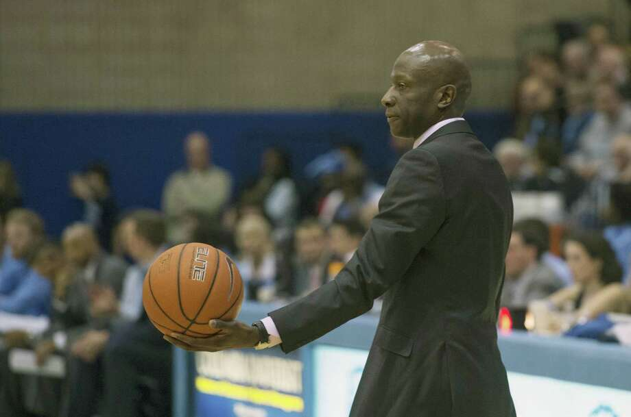 Coach James Jones and the Yale men's basketball team kick off their season on Friday against California in Shanghai, China. Photo: Associated Press File Photo / FR171336 AP
