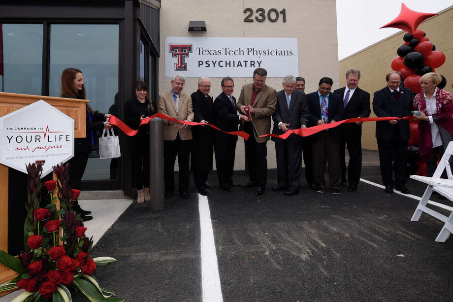 Grand opening celebration of the Texas Tech Physicians Psychiatric Clinic, a mental health facility funded by the Midland Development Corporation and the Scharbauer Foundation, Nov. 8, 2018. James Durbin/Reporter-Telegram Photo: James Durbin / ? 2018 Midland Reporter-Telegram. All Rights Reserved.