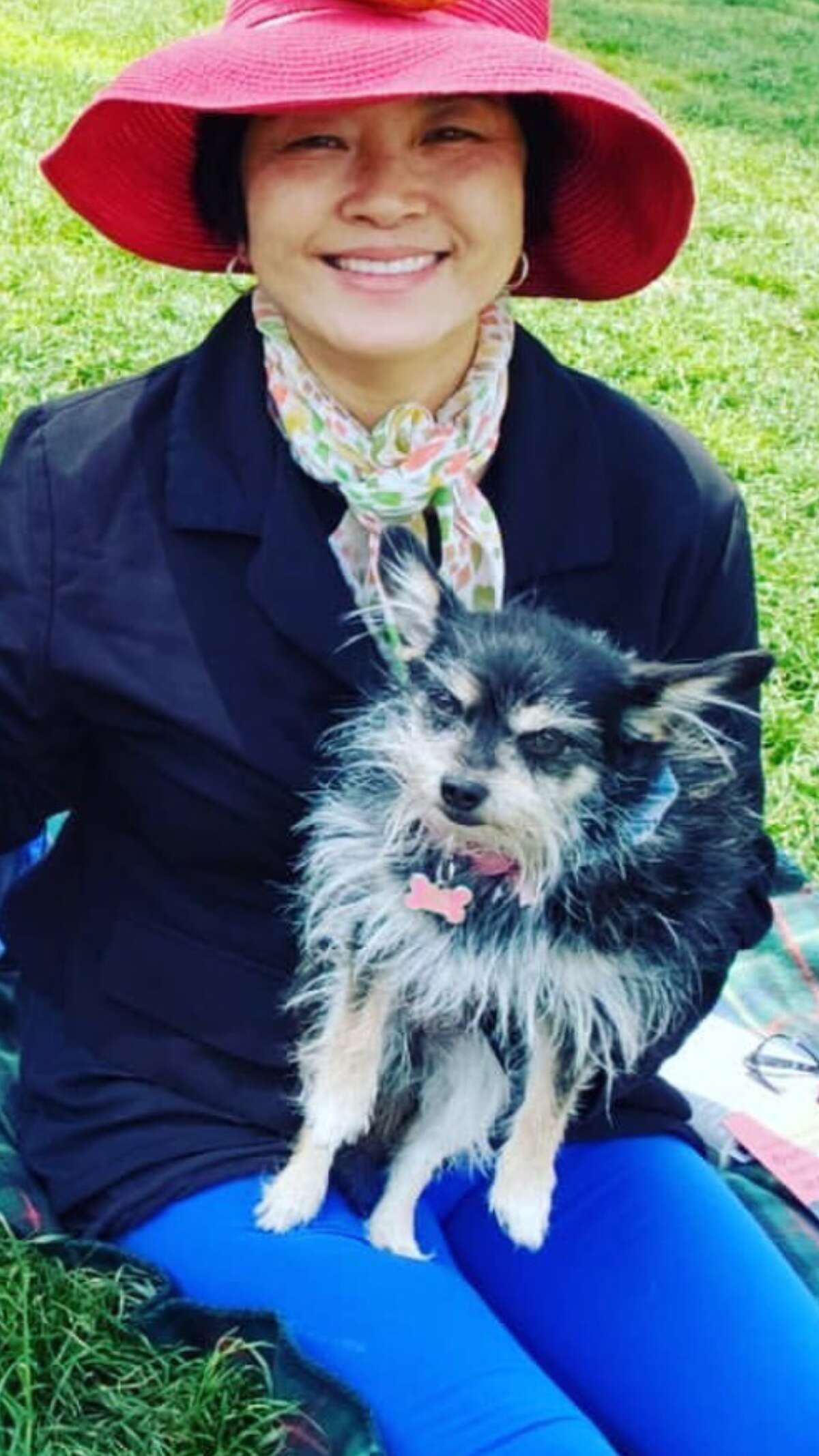 Shawna Lee's dog, Fei Fei, was mauled to death by a pit bull in Dolores Park on Monday, she said.