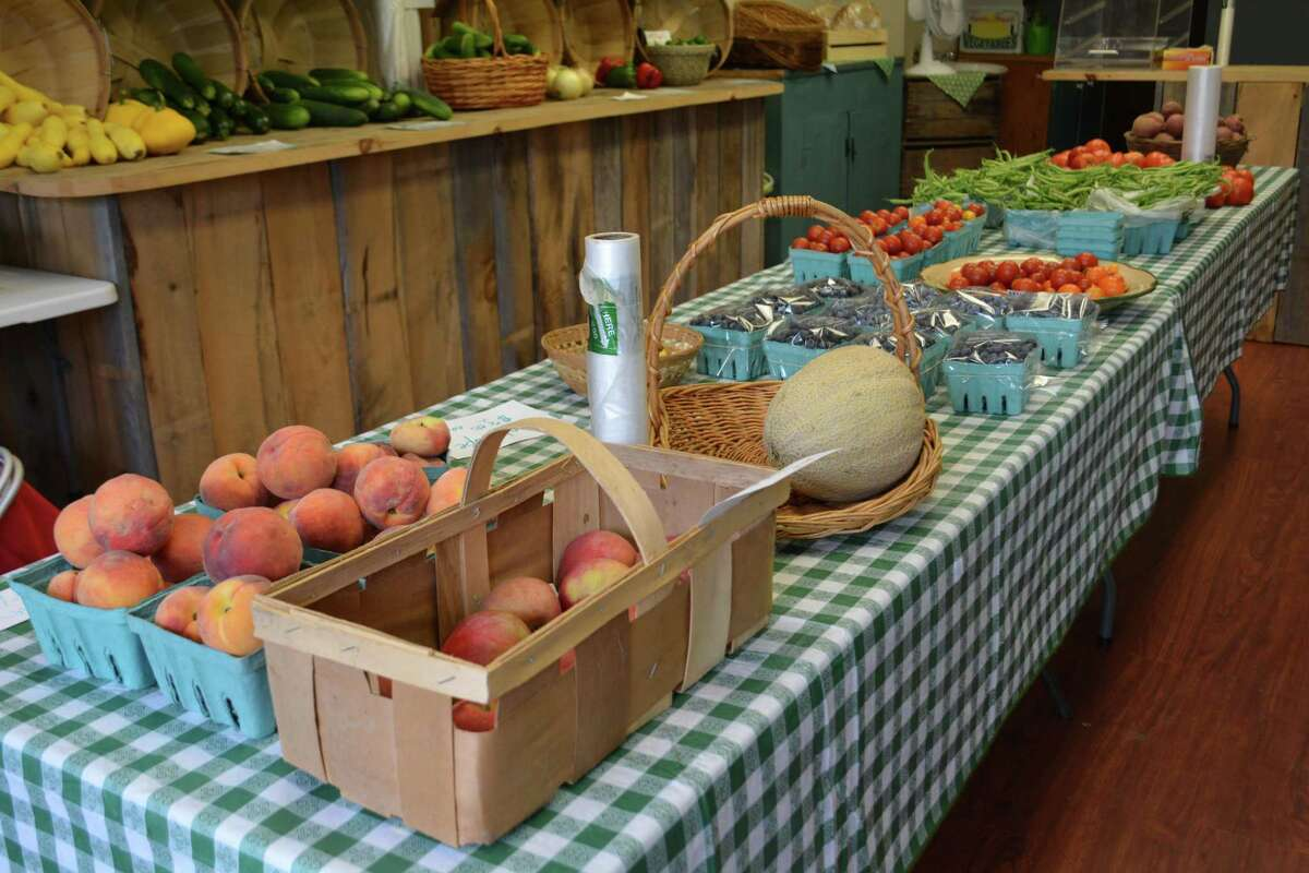 Produce from the Barden farm which has been in the family for five generations.