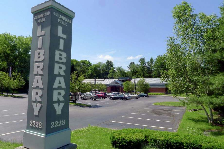 The Guilderland Public Library in Guilderland N.Y. Wednesday June 13, 2012. (Michael P. Farrell/Times Union) Photo: Michael P. Farrell / 00018079A