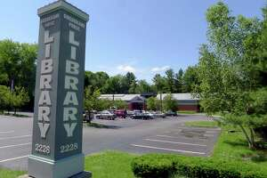 The Guilderland Public Library in Guilderland N.Y. Wednesday June 13, 2012. (Michael P. Farrell/Times Union)